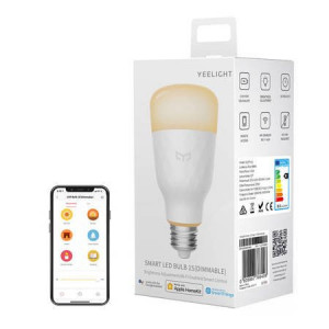 Bec Inteligent LED Yeelight Smart 1S Dimmable (alb) - E27
