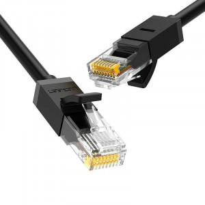 Cablu de rețea Cat.6, UTP, 15m (negru) UGREEN