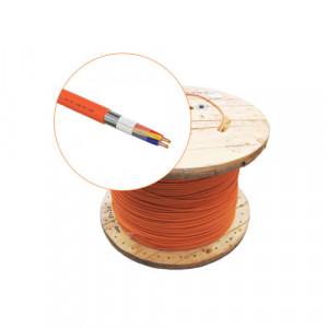 Cablu incendiu JE-H(St)H FE 180 E30-E90, 2x2x08, ecranat, 500m - UniFire UNL90-2x2x08-T