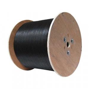 Cablu UTP DE EXTERIOR, cat 6E, CUPRU 100%, tambur 305 metri - UNV CAB-LC3110B-E-IN
