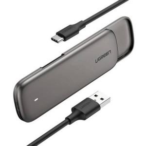 Carcasa SSD M.2 Drive M-key, NVMe UGREEN , 6Gbps (gri)