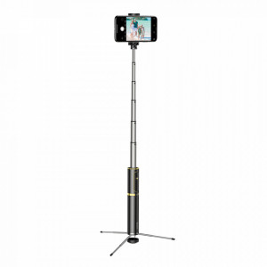Selfie Stick + Tripod stand telescopic Baseus Bluetooth gold (SUDYZP-D1V)