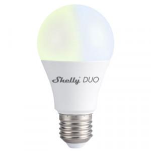 Shelly Duo (E27) bec inteligent wifi dimabil de culoare albă cu reglarea temperaturii