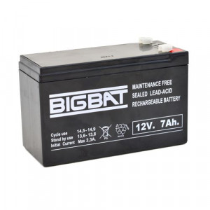 Acumulator BIG BAT 12V, 7 AH