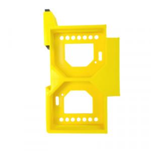 Adaptor pe șină DIN dublu Shelly RGBW2 / Dimmer / Dimmer 2