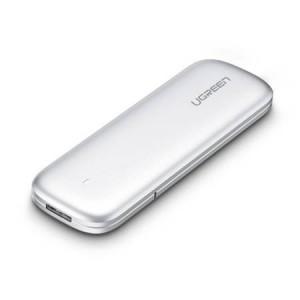 Carcasa SSD M.2 Drive M-key, NVMe UGREEN , 6Gbps (silver)