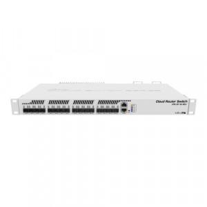 Cloud Router Switch 1 x Gigabit, 16 x SFP+ 10Gbps - Mikrotik CRS317-1G-16S+RM
