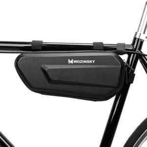 Geantă de bicicletă Wozinsky pentru cadru de bicicletă 1,5 L negru