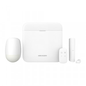 Kit sistem de alarma AX PRO Wireless (868Mhz), LAN + Wi-Fi + GPRS - HIKVISION DS-PWA64-Kit-WE