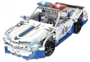 Masina de police Double Eagle C51006W - bloc de construcție RC
