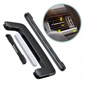 Odorizant auto Baseus Paddle Ultrathin Air Vent Negru