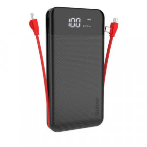 Power bank Dudao 2x USB 10000mAh 2A, 3in1 Lightning / USB Typ C / micro USB 3A