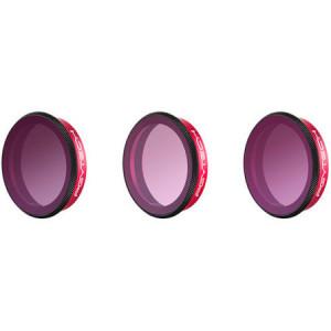 Set de 3 filtre de gradient PGYTECH pentru DJI Osmo Action (P-11B-021)