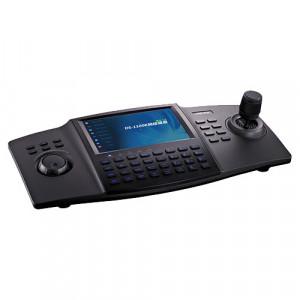 Tastatura de comanda, conexiune IP, ecran 7 inch TFT touch screen - HIKVISION DS-1100KI