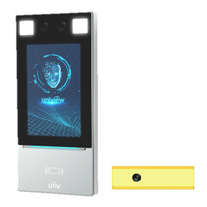 Terminal control acces recunoastere faciala + detectie temperatura - UNV OET-213H-BTS1