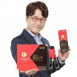 Ginseng Rosu Coreean Stick-uri (plicuri cu continut lichid) LAVIVANT