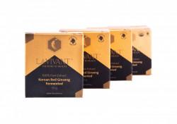 Set 4 cutii Extract de Ginseng Rosu Korean Fermentat, 110mg/g ginsenozide - LaVivant - extract pur 100% Super Concentrat, 30g