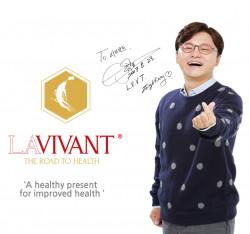 Capsule Extract de Ginseng Rosu Coreean Fermentat ROYAL GOLD LAVIVANT 30 capsule vegetale , 130mg/g saponine