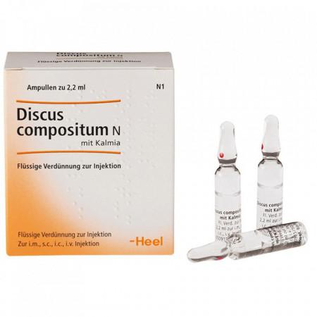 Discus Compositum N cu Kalmia 10 fiole 2,2 ml ,Tratament Hernie De Disc, Afecțiuni Reumatismale