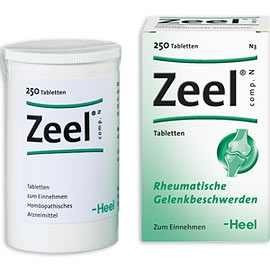 Zeel Comp N (Zeel T) 250 Tablete - Produs Homeopat, Tratament Antireumatic ~ Coxartoza, Gonartroza, Dureri articulare, Afectiuni Reumatismale, Reumatism Poliarticular, Fracturi Osoase, Inflamatii articulare