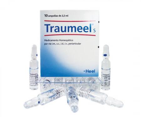TRAUMEEL S ~ HOMEOPAT ~ ANTIREUMATIC ~ 10 FIOLE X 2.2 ML Afectiuni Reumatismale, Dureri Articulare, Coxartroza, Gonartroza, Artroza.