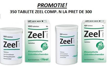 Zeel Comp N (Zeel T) 350 Tablete - Produs Homeopat, Tratament Antireumatic ~ Coxartoza, Gonartroza, Dureri articulare, Afectiuni Reumatismale, Reumatism Poliarticular, Fracturi Osoase, Inflamatii articulare