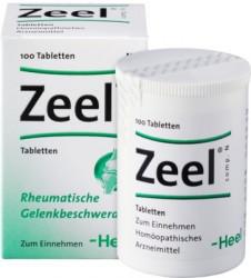 Zeel Comp N (Zeel T) 100 Tablete - Produs Homeopat, Tratament Antireumatic ~ Coxartoza, Gonartroza, Dureri articulare, Afectiuni Reumatismale, Reumatism Poliarticular, Fracturi Osoase, Inflamatii articulare