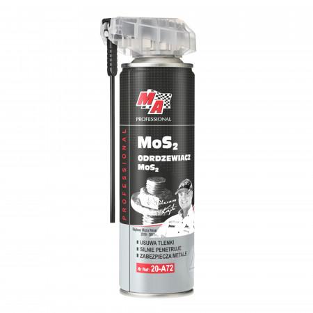 Spray degripant cu MoS2 cu aplicator - Lubricant MoS2 - Ma profesional - 500 ml