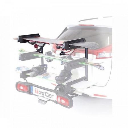 Suport schi/snowboard TowCar Aneto 6 cu prindere pe carligul de remorcare