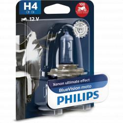 Bec far Philips H4 Blue Vision, 12V, 55W