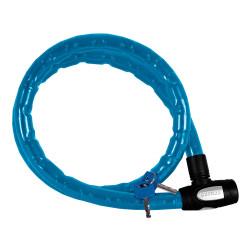 Cablu anti-furt motocicleta din otel armat Oxford Albastru