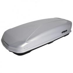 Cutie portbagaj Farad Koral, deschidere dubla, 630 L, 210X90X42 cm, gri