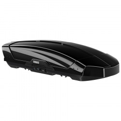 Cutie portbagaj Thule Motion XT L, deschidere dubla, negru lucios 450 l, 195 x 89 x 44 cm