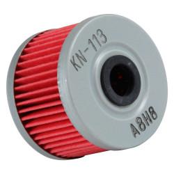 Filtru ulei K&N pentru motociclete, KN113 (HF113)