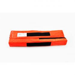 Kit triunghi si trusa medicala Omologat Mega Drive, in conformitate cu DIN 13164 si triunghi reflectorizant cu marcaj European + borseta portocalie CADOU