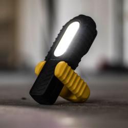 PHENOM - Lampă de lucru COB LED, 2 în 1, cu acumulator