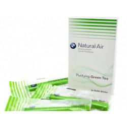 Set 3 rezerve odorizant auto original BMW Natural Air, aroma Purifying Green Tea