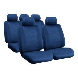 Set huse scaun Glamur, albastru, Lampa