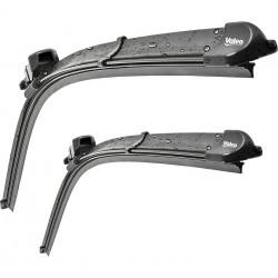 Set stergatoare Valeo Silencio X.TRM Flat Blade pentru parbriz 65/60 cm VW Crafter Mercedes Sprinter