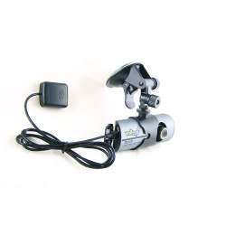 Camera video auto DVR, 2 camere, GPS, software vizualizare harta + film, card memorie 32 GB si cititor card USB inlcuse, ideal pentru examenele auto si scoli de soferi