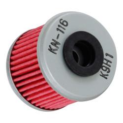Filtru ulei K&N pentru motociclete, KN116 (HF116)