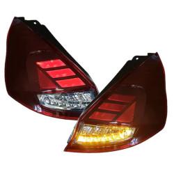 Set 2 stopuri full LED pentru Ford Fiesta (2013-2017) LEDriving semnal dinamic Osram