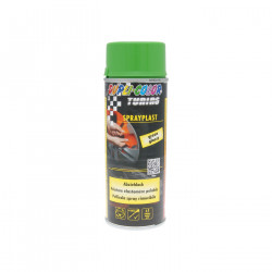 Vopsea folie detasabila Dupli-Color SprayPlast, 400 ml, Verde lucios