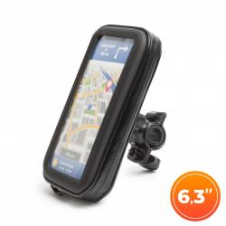 """Wheel Zone - Husă telefon pentru biciclete - cu suprafaţă tactilă - max. 6,3"""""""