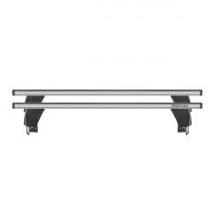 Bare transversale Menabo Delta Silver pentru Jeep Renegade (BU), 5 usi, model 2014+