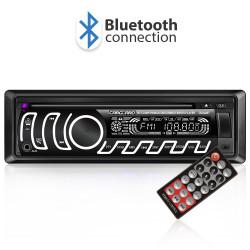 CD MP3 player auto cu Bluetooth (FM, USB, SD, AUX)