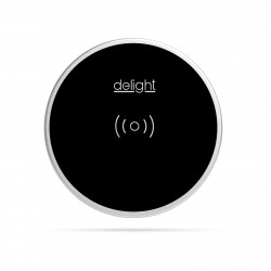 Delight - Staţie de încărcare fără fir, incorporabilă - negru - max 1,1 A