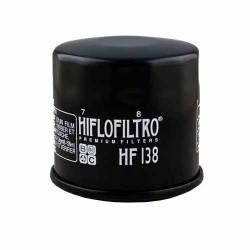 Filtru Ulei Hiflofiltro HF138 - Aprilia RSV4; Kawasaki KLV1000; Suzuki GSF600/650/1200/1250, GSR600/750, GSX-R600/750/1000/1300, DL650/1000, SV650/1000, VL/VZ800/1500/1800
