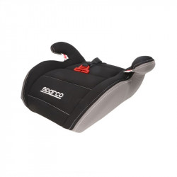 Inaltator auto Sparco Booster F100K, varsta recomandata 4-12 ani, Negru/Gri