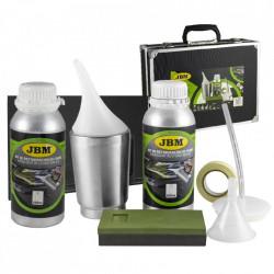 Kit restaurare faruri cu polimer lichid JBM - include 2 X 600ml substanta